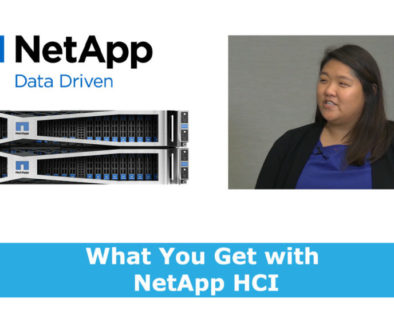 What you Get with NetApp HCI Vania Xu